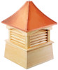 """35"""" Handcrafted """"Waterford"""" Copper Roof Wood Cupola - 9449893"""