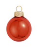 "8ct Shiny Henna Red Glass Ball Christmas Ornaments 3.25"" (80mm) - 30939762"