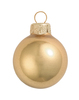 "4ct Metallic Gold Glass Ball Christmas Ornaments 4.75"" (120mm) - 30939990"