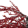 "46"" Red Crystallized Glitter Potted Holiday Tree - Mirrors & Beads - 6595347"