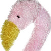 "42"" Pre-Lit LED Outdoor Chenille Pink Flamingo Summer Patio Yard Art Decoration - 30893317"