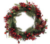 "24"" Traditional Raspberry Pine Artificial Christmas Wreath - 21296562"