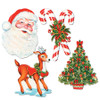"Club Pack of 48 Assorted Festive Christmas Cutouts Holiday Decorations 17"" - 31562100"