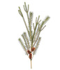 "30"" Glacier and Skyland Artificial Pine with Cone Christmas Spray - 30882456"