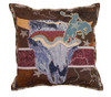 "17"" Spirit of the Old West Decorative Tapestry Accent Throw Pillow - 32267181"