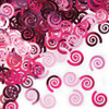 Club Pack of 12 Candy Pink Swirls Celebration Confetti Bags 0.5 oz. - 31379975