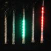 "Snowfall - Set of 5 Single-Sided 7"" LED Christmas Icicle Light Tubes - Multi - 16178333"