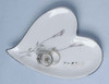 25th Silver Wedding Anniversary Heart Shaped Ring Holder #11082 - 6371136