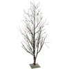 6' LED Lighted Frosted Brown Christmas Twig Tree - Warm Clear Lights - 30852555