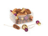 """41 Rich Plum Purple and Gold Disco Balls with Glitter Christmas Pine Cones 4"""" - 30656831"""