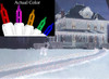 Set of 150 Multi-Colored Path-Cicles Mini Christmas Lights - White Wire - 21320991