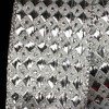 "Woven Diamond Silver Lamé Wired Craft Ribbon 1.5"" x 54 Yards - 31388473"