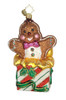 Christopher Radko Glass Sweet Surprise Gingerbread Christmas Ornament #1014942 - 16068304