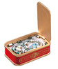 "Pack of 2 Icy Crystal Animated Musical Sardine Can Village Figurines 2"" - 31002401"