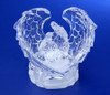 "Pack of 6 Icy Crystal Illuminated Religious Holy Family Angel Wings Figurines 3"" - 31002454"
