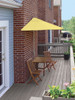 5-Pc Terrace Mates Deluxe Square Outdoor Patio Furniture Set 7.5' -Yellow Olefin - 16156934