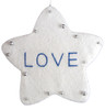 "5"" White Word Star ""Love"" Christmas Ornament - 7392166"