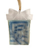 "3"" Crystal Elegance Winter Scene Present-Shaped Christmas Ornament - 7392072"