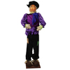 Huge 6 Foot Life-Size Decorative Plush Pumpkin Scarecrow - Sitting or Standing - 31092546