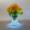 """5"""" Pure White LED Lighted Table Top Square Display Base - 30851573"""