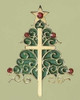 "3.5"" Holiday Traditions Inspirational Christmas Tree and Cross Ornament - 28436553"