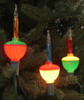Pack of 3 Multi-Color C7 Bubble Light Replacement Christmas Bulbs - 23113426