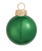 "40ct Pearl Green Xmas Glass Ball Christmas Ornaments 1.25"" (30mm) - 30939229"
