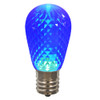 Club Pack of 25 LED Blue Replacement Christmas Light Bulbs - E26 Base - 30861573