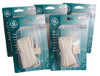 Pack of 5 GE Telephone Jack Base Cords with 2 Device Adapters - 10541164