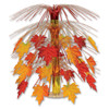 """Pack of 6 Fabric Fall Leaves Cascade Centerpiece Thanksgiving Decorations 18"""" - 31559671"""