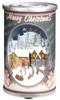"7"" Retro Musical Santa Claus in Antique Can Christmas Decor - 11075770"