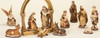 11-Piece Inspirational Brown and Gold Christmas Nativity Figure Set - 17109126