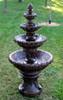 7' Concrete French Quarter 4-Tier Outdoor Garden Water Fountain - 15733718