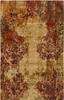 9' x 13' Hanging Gardens Tan, Maroon & Espresso Hand Knotted Wool Area Throw Rug - 30873952