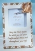 """Pack of 6 Religious Gold Confirmation 3""""x3"""" Photo Frames #46557 - 6386132"""