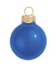 """6ct Pearl Delft Blue Glass Ball Christmas Ornaments 4"""" (100mm) - 30939850"""