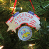 """4.25"""" """"American Hero"""" US Army Christmas Ornament for Personalization - 16183532"""