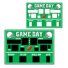 """Club Pack of 24 Green and White Football Chalkboard Game Day Scoreboard Cutout Decorations 21.75"""" - 31558054"""