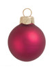 "4ct Matte Soft Berry Glass Ball Christmas Ornaments 4.75"" (120mm) - 30940045"