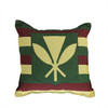 """17"""" Hawaiian Coat of Arms Decorative Tapestry Accent Throw Pillow - 32266465"""
