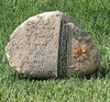 """6"""" Tammy Repp """"The Love of Family"""" Outdoor Garden Message Stone - 30932382"""