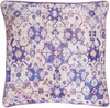"""22"""" Lavender Purple and Powder Pink Woven Decorative Throw Pillow - 32214576"""