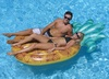 """86"""" Water Sports Inflatable Tropical Pineapple Swimming Pool Raft Float - 32551567"""