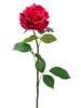 """Pack of 12 Red Open Cottage Rose Artificial Floral Craft Sprays 25.5"""" - 29500769"""