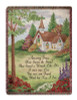 """Pastoral Church Amazing Grace Religious Verse Tapestry Throw Blanket 50"""" x 60"""" - 30781995"""