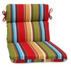 "21"" x 40.5"" Westport Garden Outdoor Patio Rounded Chair Cushion - 32586047"