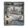 "Connecticut ""Nutmeg State"" Tapestry Throw Blanket 50"" x 60"" - 7379850"