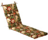 Outdoor Patio Furniture Chaise Lounge Chair Cushion - Floral Cafe - 13367180