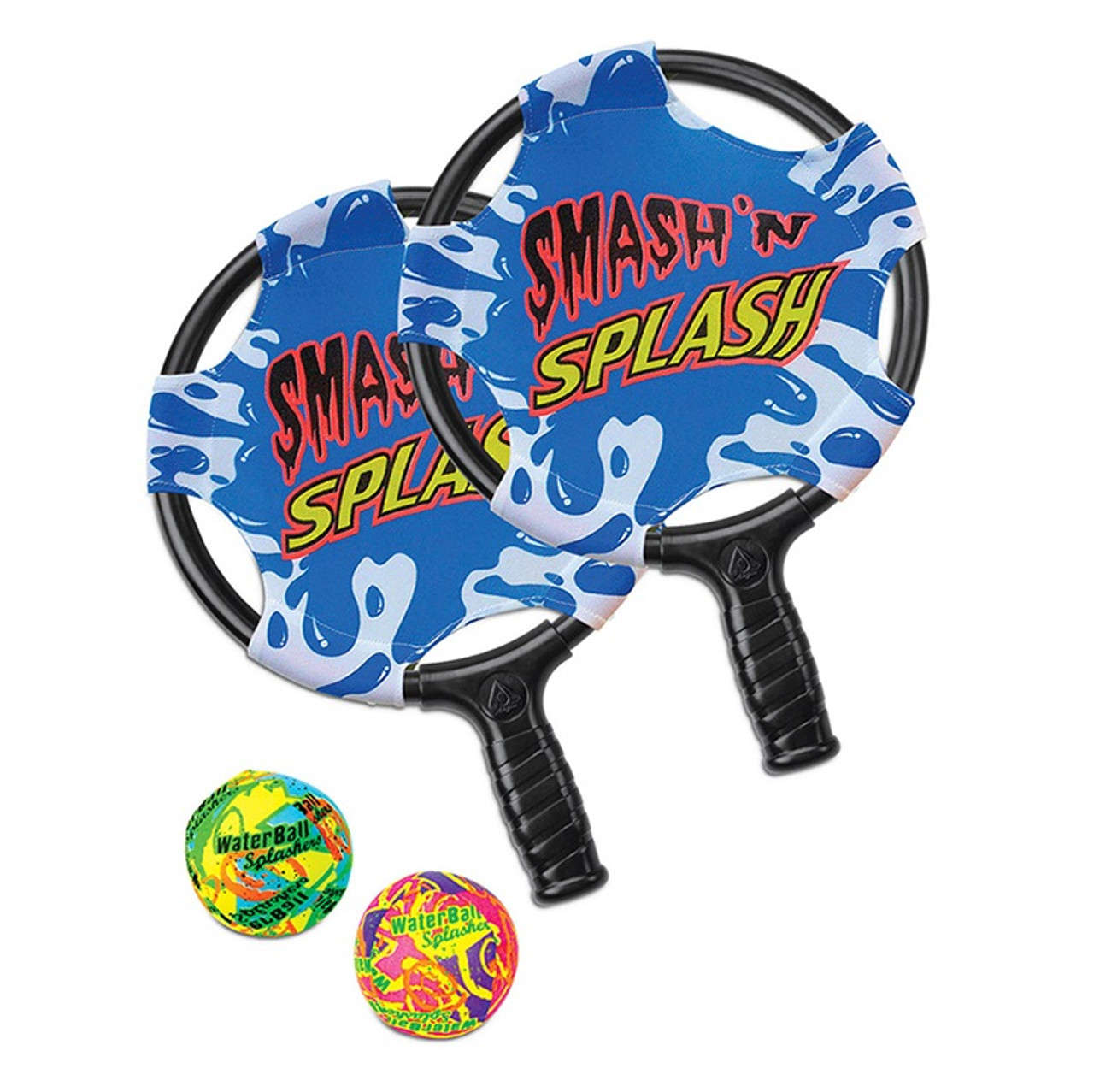 Multi Colored Smash 39 N 39 Splash Paddle Ball Swimming Pool Game Christmascentral