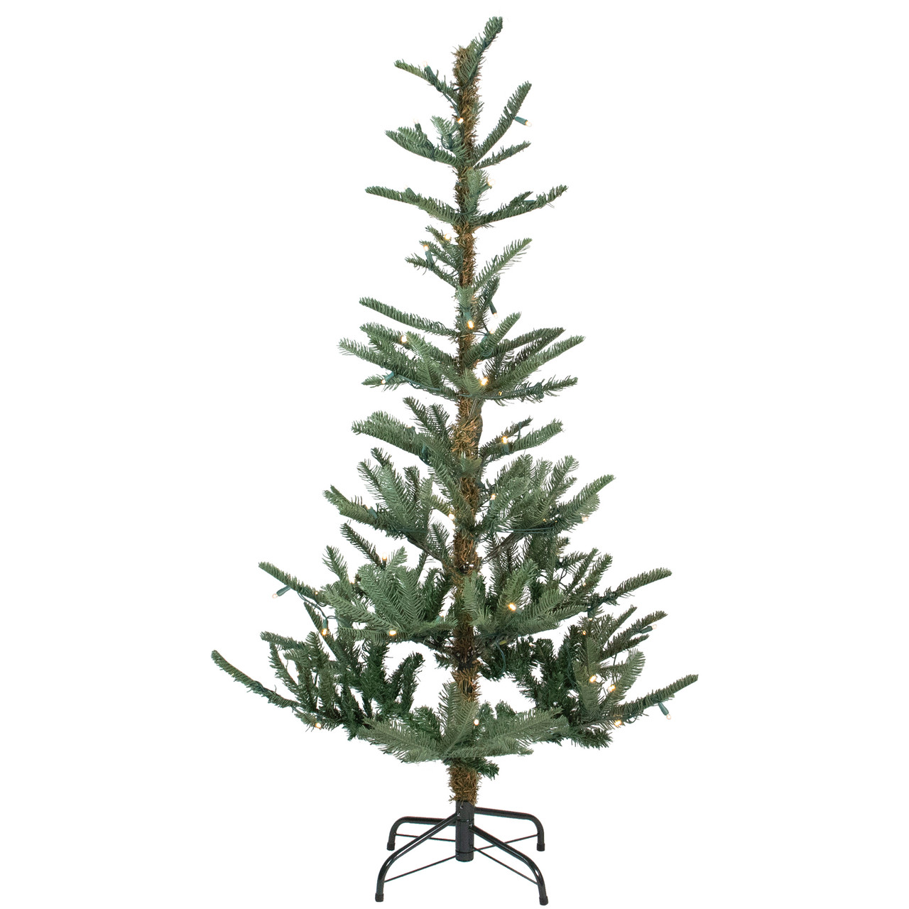 Pre Lit Led Lights Christmas Tree: 9' Pre-Lit Layered Noble Fir Artificial Christmas Tree